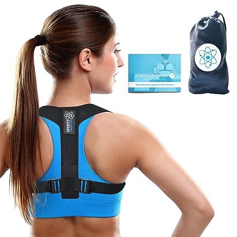 Sports Laboratory ® PRO+ Correcteur de Posture Dos Épaules Avachie ... 58b94246c5c