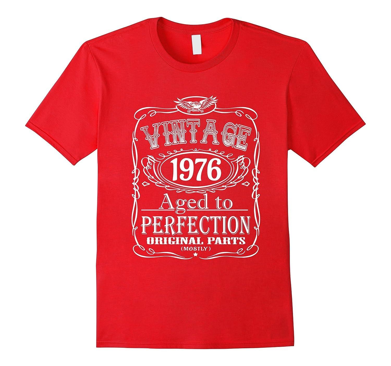 Birthday T-Shirts - Vintage 1976 40th Birthday Tee-BN