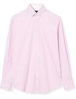 Hackett London Dbl Sided Butcher Str Camisa para Hombre