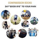 ODIJOO Compression Socks 15-20mmHg for
