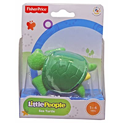 Fisher Price Little People Sea Turtle: Toys & Games