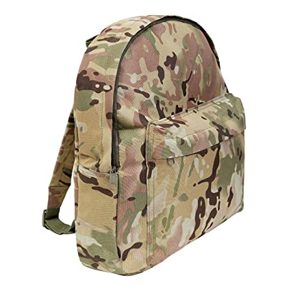 4b60f25db9d7 Amazon.com  Kids Army Style Multi Cam Backpack 15ltr Camouflage ...
