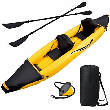 Amazon.com: Blue Wave Sports Nomad 2 Person Inflatable Kayak ...