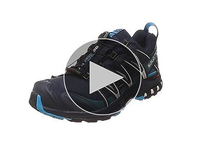 zapatillas salomon xa pro 3d gtx negro blanco verde en youtube