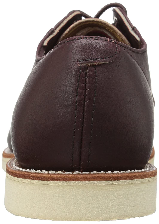 Zapato De Hombre De Oxford De Cartero De Red Wing UK9 EU43 US10 Merlot Mesa 1zYJQ1ypZ