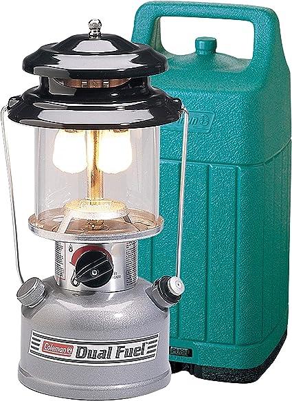 Coleman Lantern Lamp Northstar Dual Fuel Unleaded Gasolin Light Camping Outdoor
