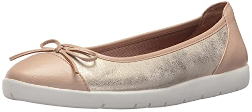 6c39b548176f LifeStride Women s Haylee Ballet Flat Soft Gold 5 ...