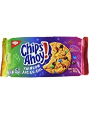CHIPS AHOY! Rainbow Chocolate Chip Cookies, 1 Resealable Pack (300g)