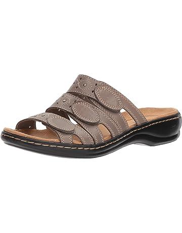 bbe9ea8070e Clarks Women s Leisa Cacti Slide Sandal