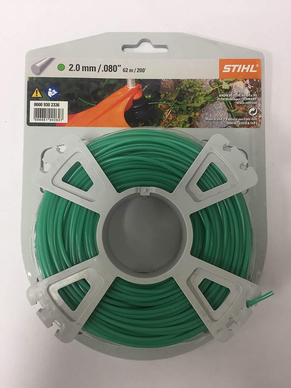 Stihl SuperCut 20-2 Mähkopf Mähfaden rund 2,4mm x 14,6m für Motorsense /& FS