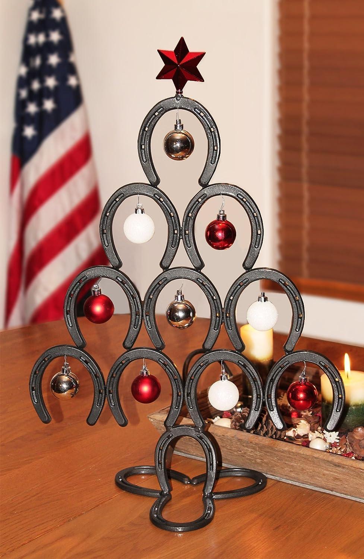 Amazon.com: Horseshoe Christmas Tree: Handmade
