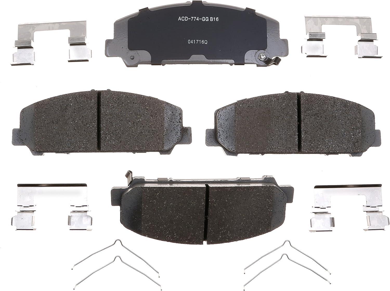Disc Brake Pad Set-Ceramic Disc Brake Pad Front ACDelco Advantage 14D1650CH