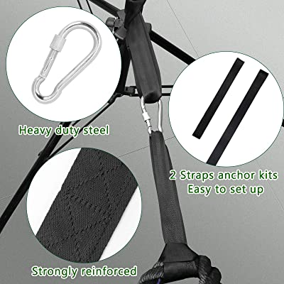 Rope Fitness Anchor Strap Kit Sport Home Gym Outdoor Muscle Workout Equipment