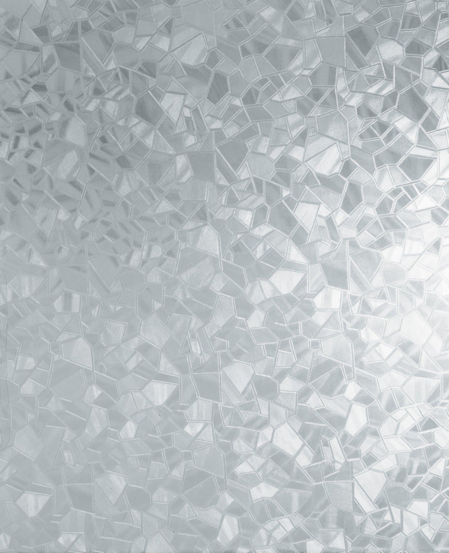 d-c-fix Self-Adhesive Privacy Glass Window Film, Splinter, 17.71'' x 78'' Roll, 346-0166
