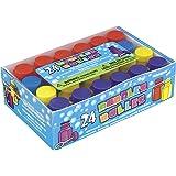 Unique Party 95233 - Mini Bolle di Sapone Regalini per Feste, Confezione da 24 , Modelli/Colori Assortiti, 1 Pezzo