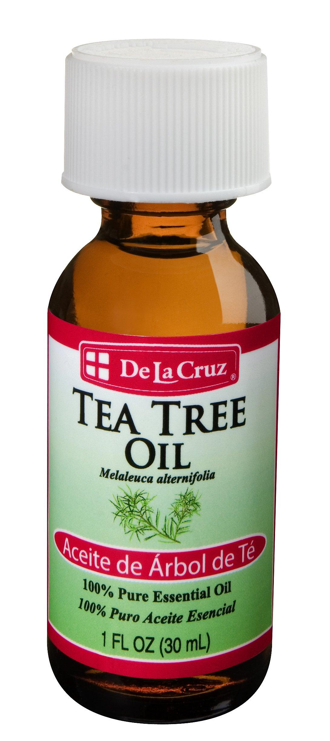 De La Cruz Tea Tree Oil, 1 Ounce