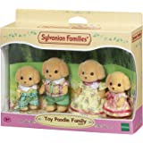Sylvanian Families Toy Poodle Family,Figures