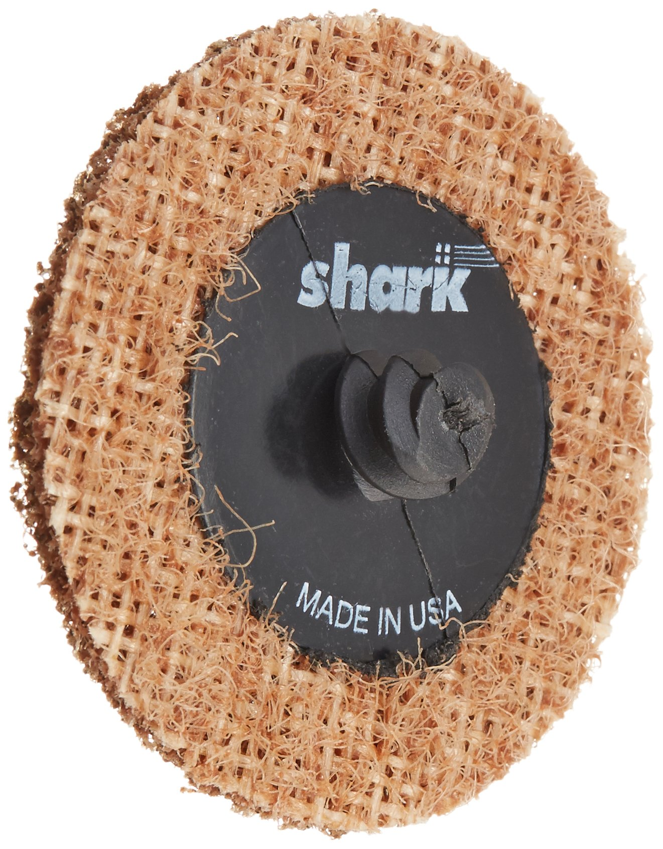 Shark 620T 2-Inch Brown Coarse Star-Brite Disc for Steel, 25-Pack