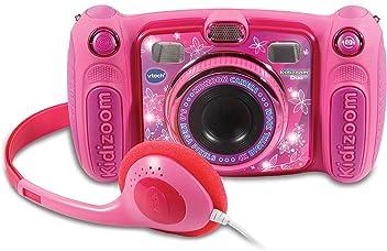 VTech Kidizoom Duo 5.0 Rosa, cámara de Fotos Digital, Infantil con 5 megapíxeles,