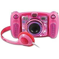 VTech Kidizoom Duo 5.0 Rosa, cámara de Fotos Digital, Infantil con 5 megapíxeles, Pantalla a Color, 10 Funciones Diferentes, 2 Objetivos, (3480-507157)