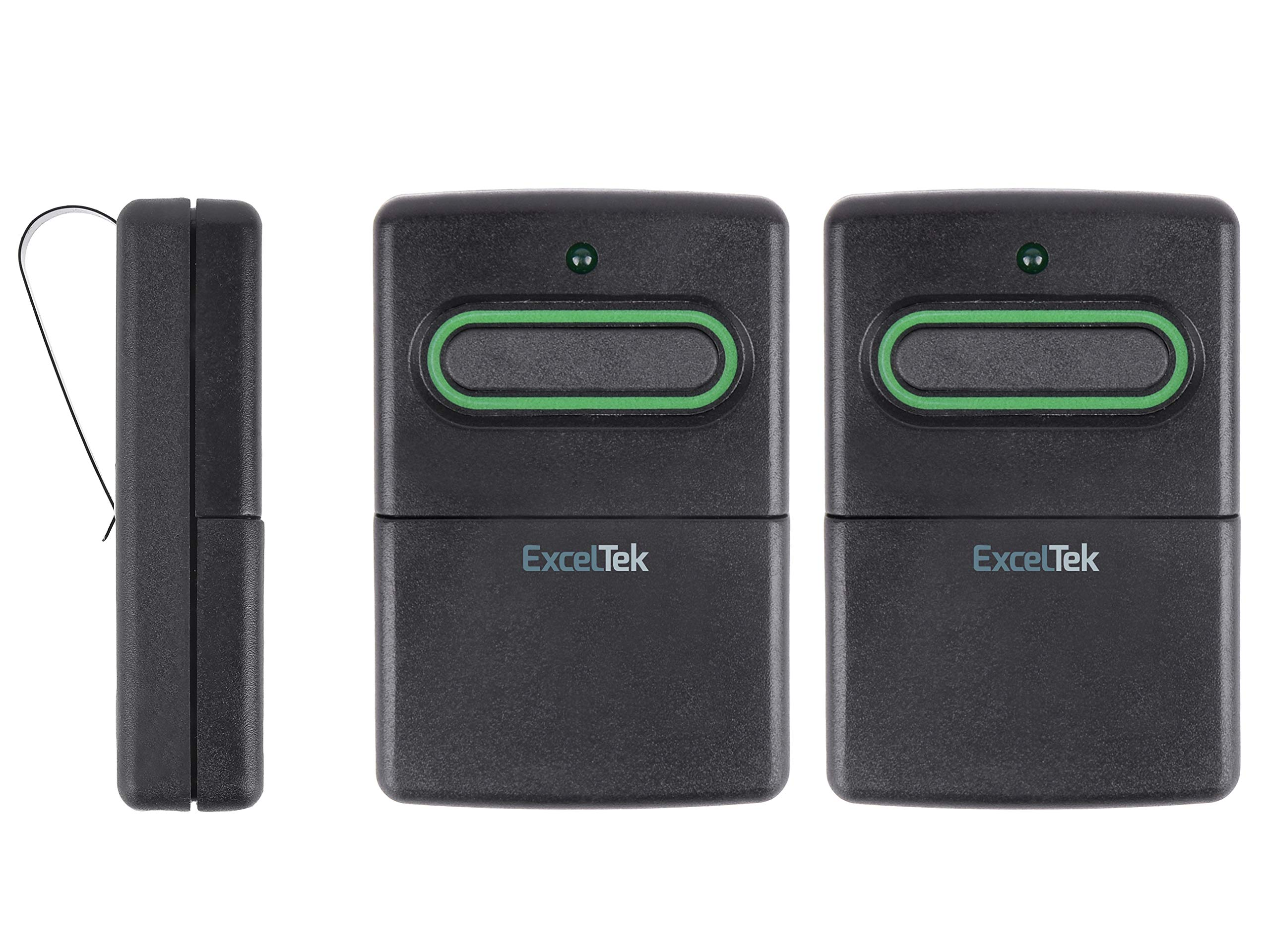 ExcelTek RB741 Compatible Garage Door Remote Control with GTO Mighty Mule RB743 FM134 FM135 318MHz (3 Pack)