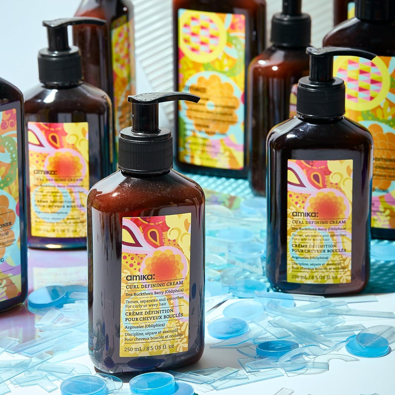 Amika Curl Defining Cream (For Curly Or Wavy Hair) 500ml: Amazon.es: Treat Yo Self
