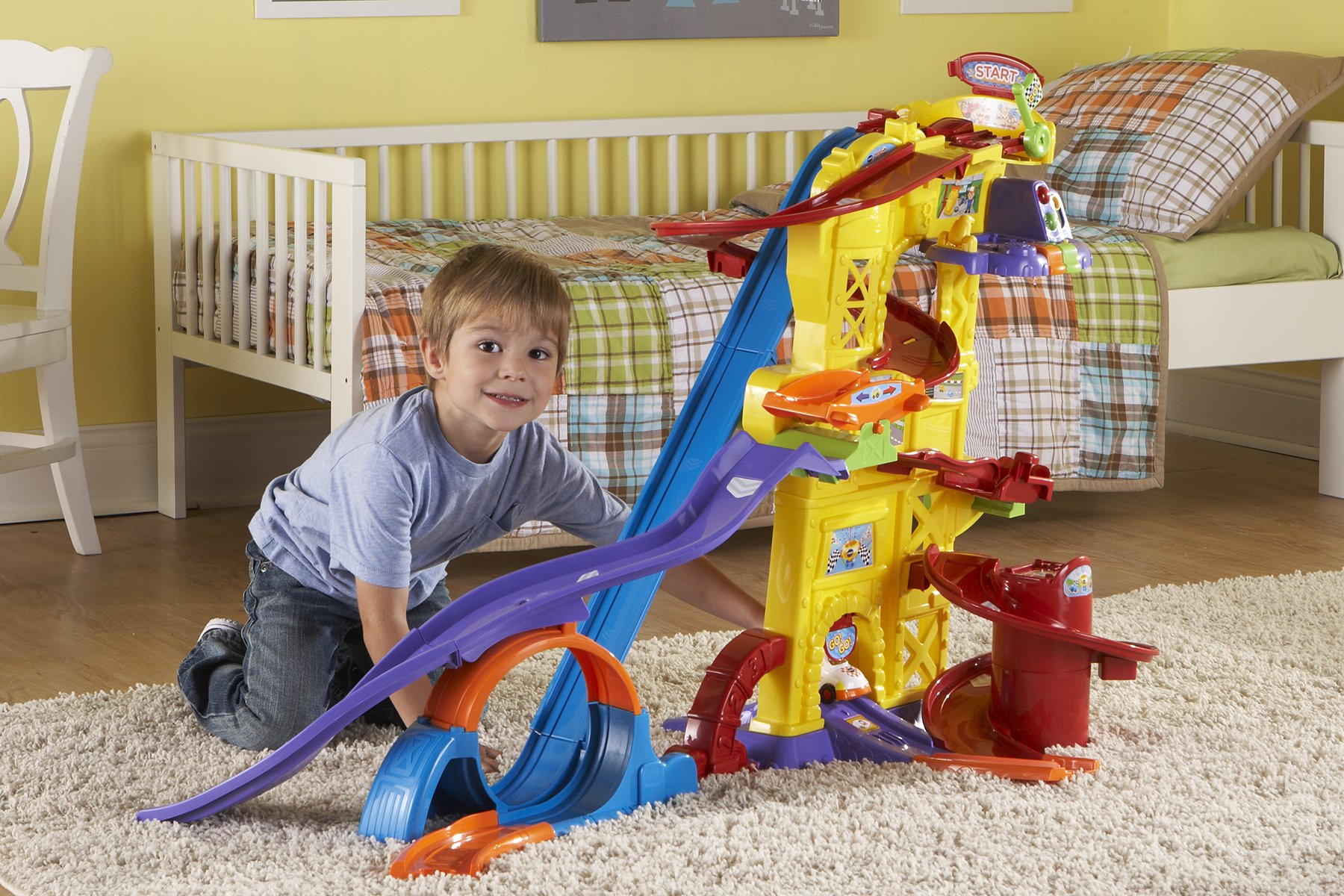 VTech Go! Go! Smart Wheels Ultimate Amazement Park Playset (Frustration Free Packaging) by VTech (Image #7)