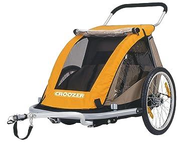 Amazon Com Croozer Designs 535 Double Child 3 In 1 Bicycle