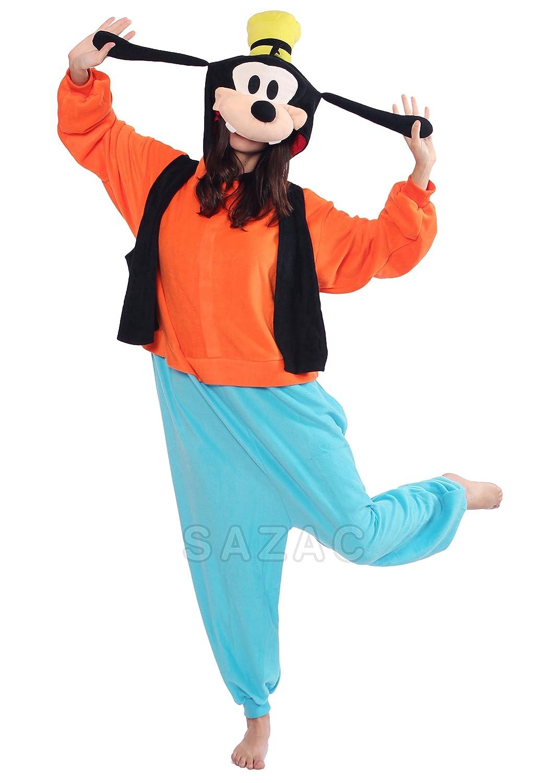 b08ede7c78df Japan Official Sazac Disney Goofy Onesie Kigurumi Pajamas Goofy Costume  Cosplay  Amazon.co.uk  Toys   Games
