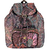 Oilily Paisley Folding Classic Backpack Coffee