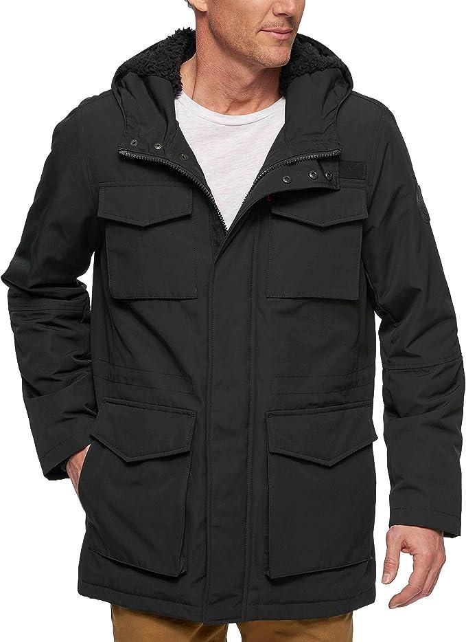 多色码全 Levi's 李维斯 连帽保暖 男式战地夹克外套 6折$74.99 海淘转运到手约¥604