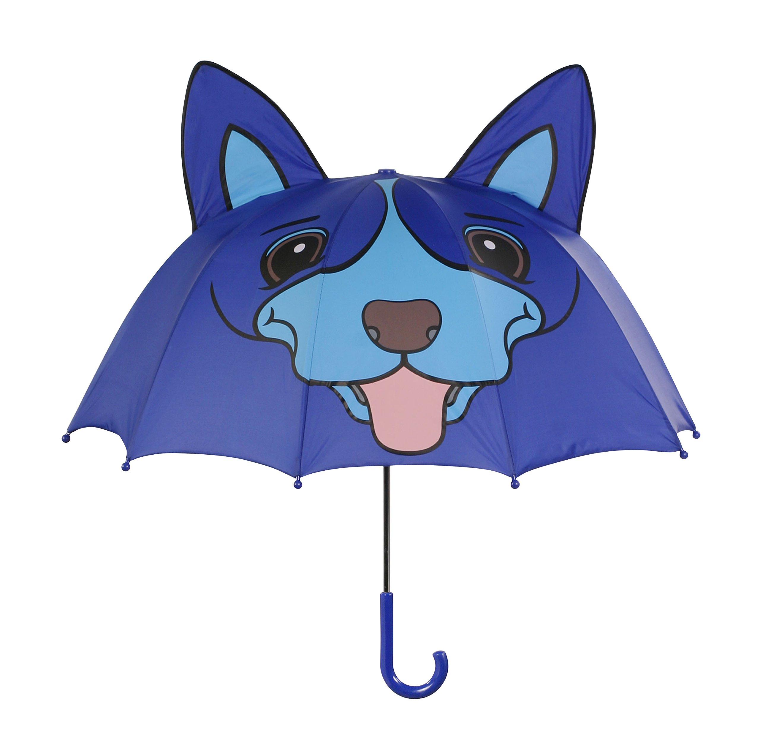 Kidorable Blue Dog Umbrella With Fun Pop-Out Ears, One Size by Kidorable (Image #1)