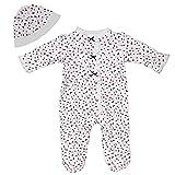 Little Me Baby Girls Polka Dot Footie Pajamas
