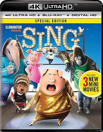 Amazon.com: Sing [Blu-ray]: Matthew McConaughey, Reese Witherspoon ...