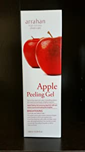 arrahan Apple Whitening Peeling Gel 180ml : Whitening Peeling Gel For Pure and Bright Skin