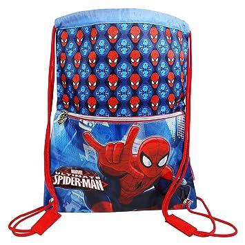 DC Comics Spiderman Power Bolsas de morral de lazo Mochila Bolso Escolar Ninos: Amazon.es: Equipaje