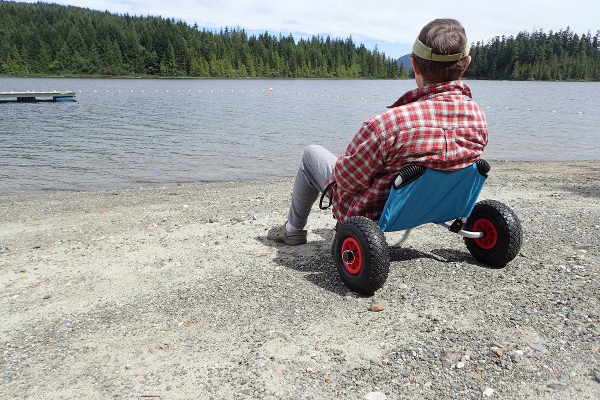 Norestar Aluminum Collapsible Kayak/SUP/Surfboard Boat Carrier, Beach Cart Wheels