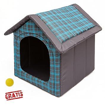 hobbydog budnkr16 + Ball gratis para perros Gato Cueva cama para perros Perros Casa Dormir Espacio para perros perro casa Caseta R1 de R4: Amazon.es: ...