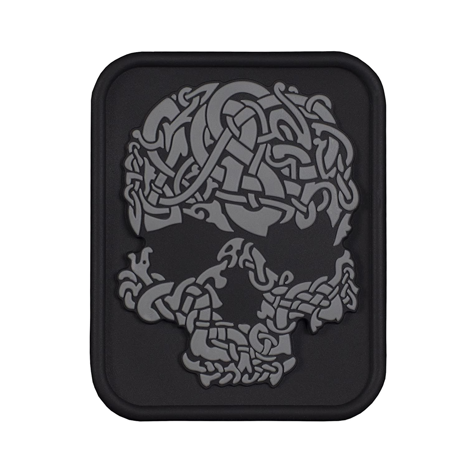 7ea81c375 Details about Viking Skull 3D Military Tactical Patch 3