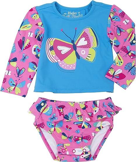 Hatley Girls Rash Guard Sets Swimwear