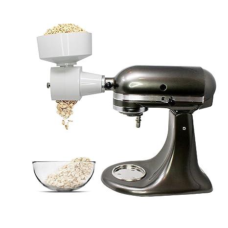 amazon com family grain mill oat flaker attachment for kitchenaid rh amazon com
