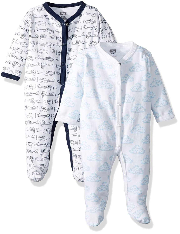 Hudson Baby Cotton Union Suit, 2 Pack 10150902