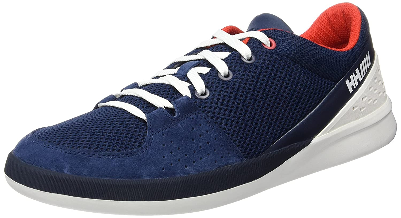 Helly Hansen HH 5.5 M Wi Wo, Zapatillas de Deporte Exterior para Hombre 46.5 EU Azul (Eve Bl/Alertred/White 690)