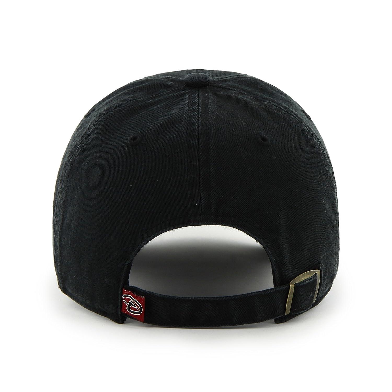 detailed look 2915a b4141 ... top quality amazon mlb arizona diamondbacks mens clean up cap black  sports fan baseball caps sports
