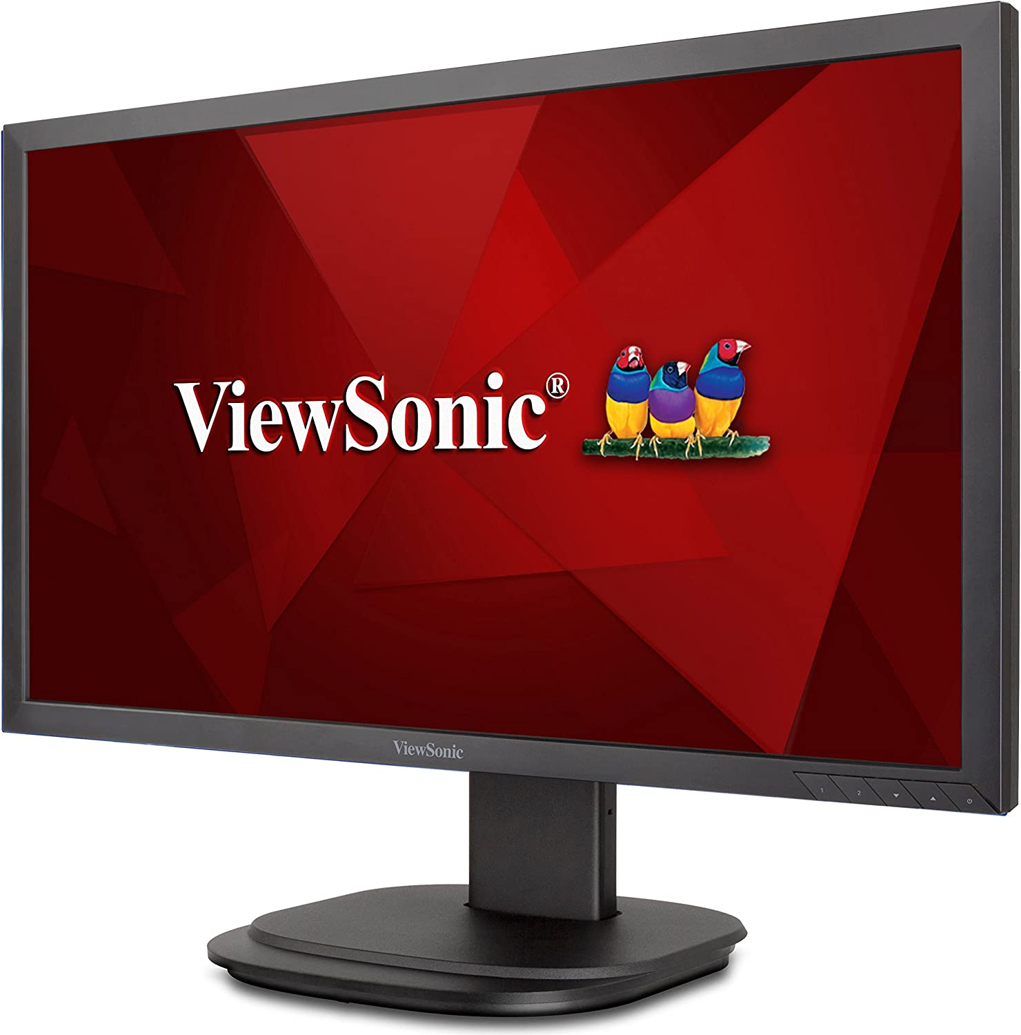 amazon com viewsonic vg2439smh 24 inch 1080p ergonomic monitor with hdmi displayport and vga for home and office black computers accessories viewsonic vg2439smh 24 inch 1080p ergonomic monitor with hdmi displayport and vga for home and office black