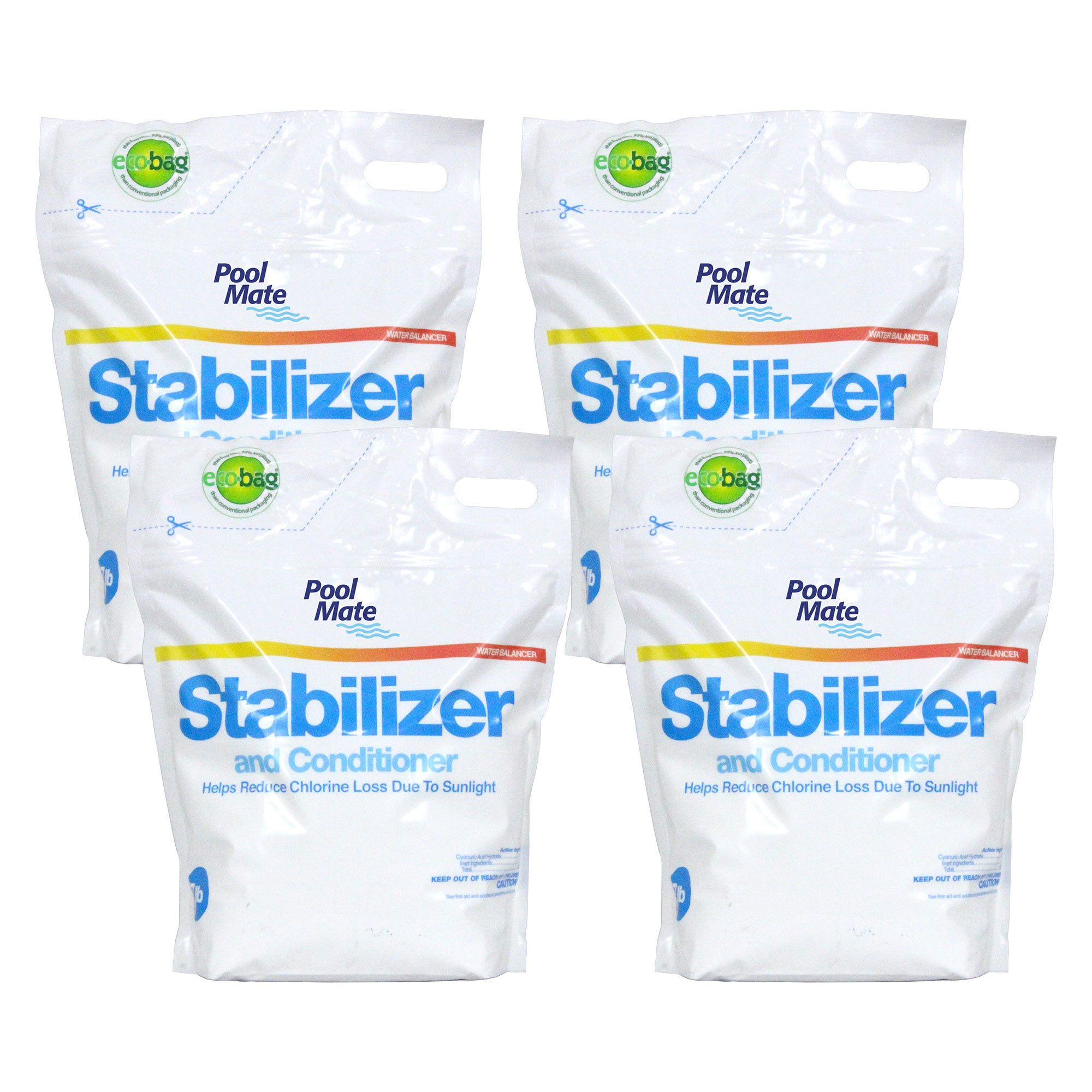 Pool Mate 1-2607B-04 Stabilizer & Conditioner for Swimming Pools, 28 lb by Pool Mate
