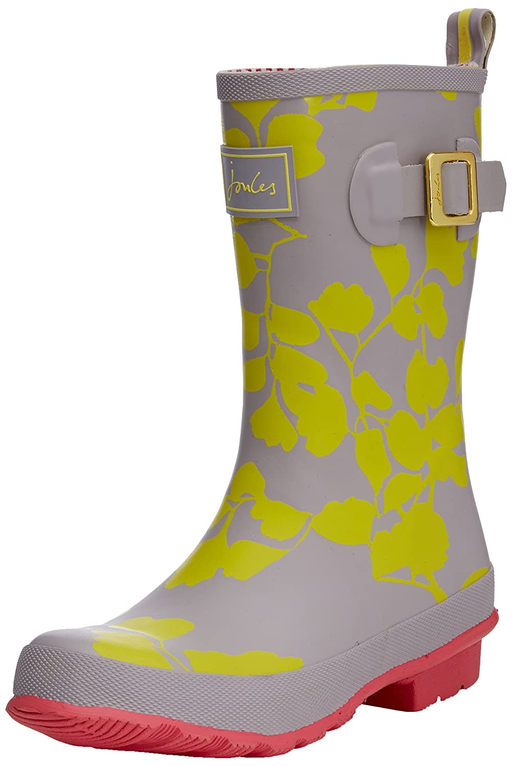 Joules Women's Molly Welly Mid-Calf Boots, Yellow Wild Flower, 3 UK:  Amazon.co.uk: Shoes & Bags
