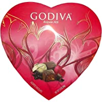 Godiva Valentine's Assorted Heart Chocolate Gift Box - 9ct/3.3oz