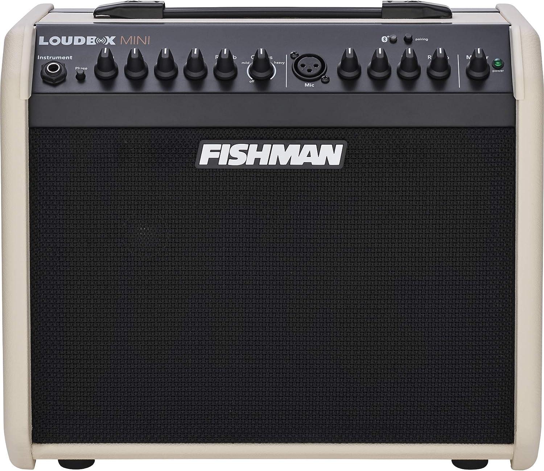 Fishman - Caja de altavoces con Bluetooth, edición especial, color crema