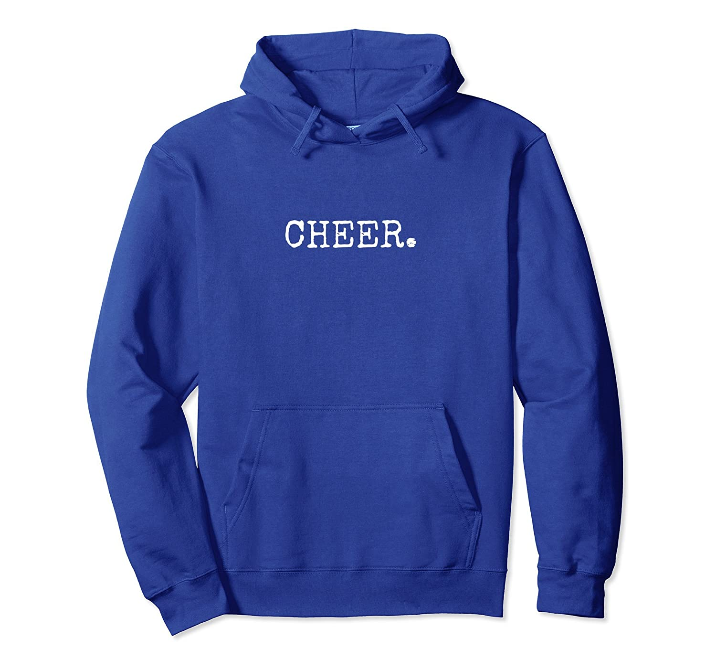 Cheer. Cheerleading Hoodie Sweatshirt-fa
